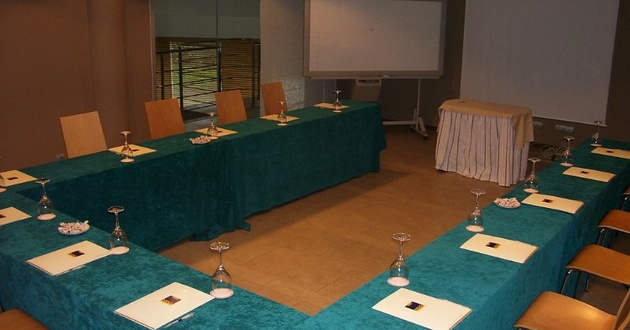 Cobalto meeting room HLG CityPark Sant Just Hotel