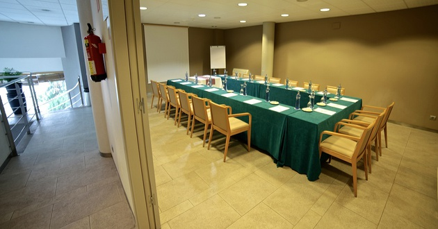 Titanio meeting room HLG CityPark Sant Just Hotel