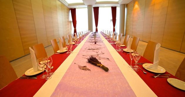 Golden meeting room HLG CityPark Sant Just Hotel
