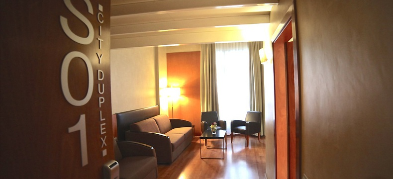 DUPLEX ROOM HLG CityPark Sant Just Hotel