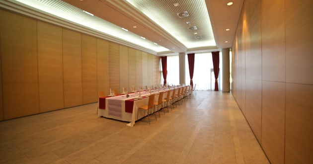 Golden meeting room HLG CityPark Sant Just Hotel